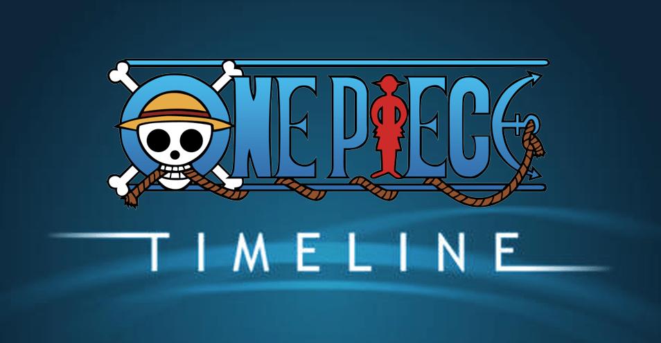 one piece timeline